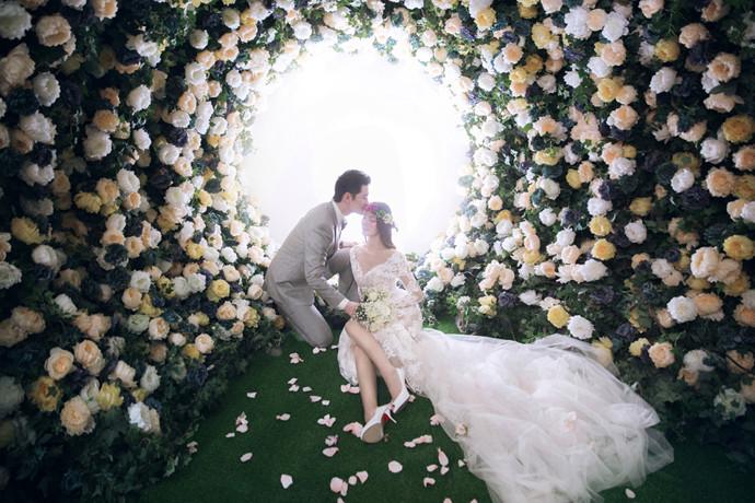 蝴蝶兰婚纱摄影