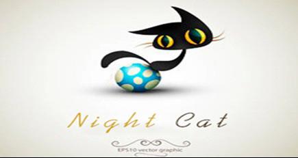 N&C夜猫创意美甲