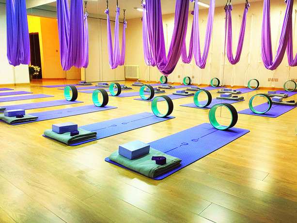 艾尚瑜伽专业瑜伽培训连锁机构(怡海花园店)