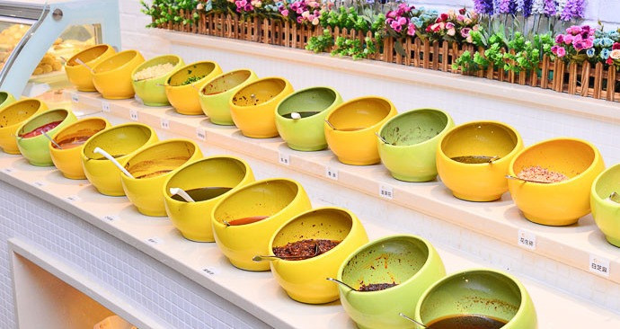 江南金草帽韩式料理自助餐厅(众圆广场店)