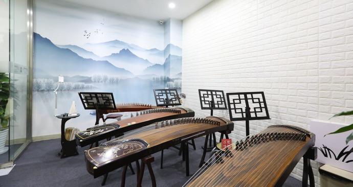 雪知音专业古筝培训