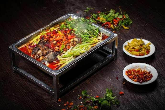 山海农庄巴蜀烤鱼