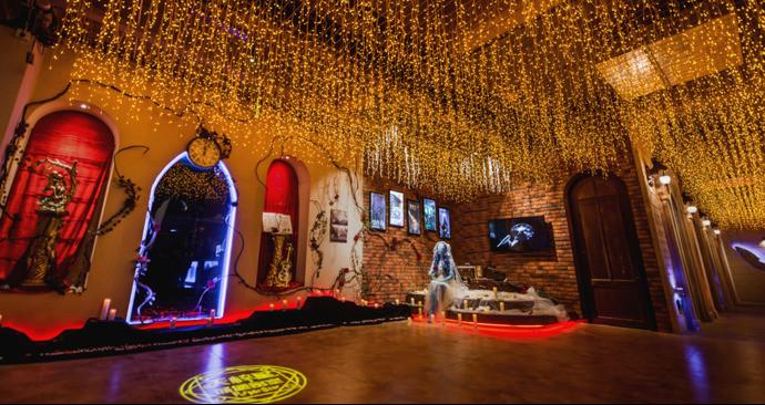 天梓星城堡密室