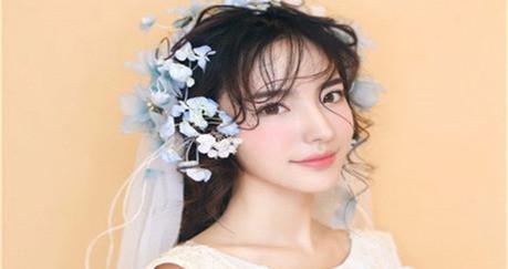 花漾时尚新娘造型