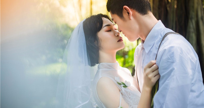 花色婚纱摄影