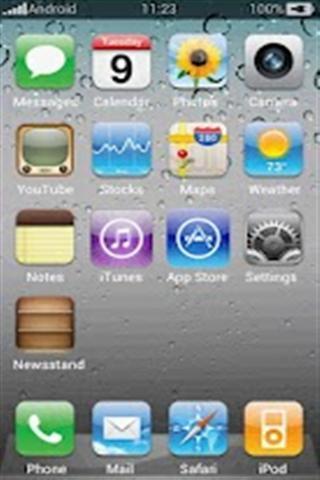 苹果手机壁纸 iPhone Theme-应用截图