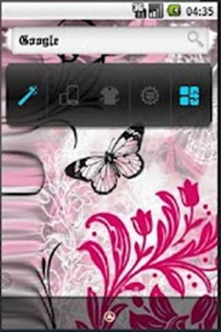 蝴蝶主题-应用截图