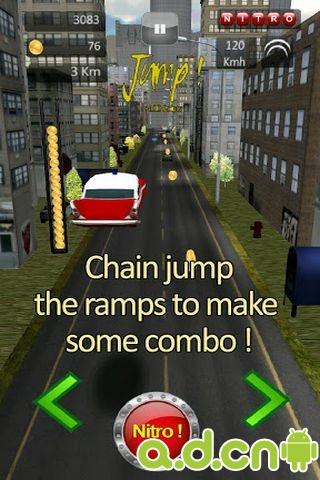 街道竞速 精简版-应用截图