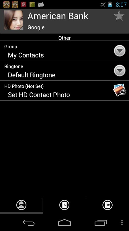 RocketDial Windows Phone Theme-应用截图