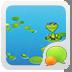 GOSMS Lotus leaves frog Theme